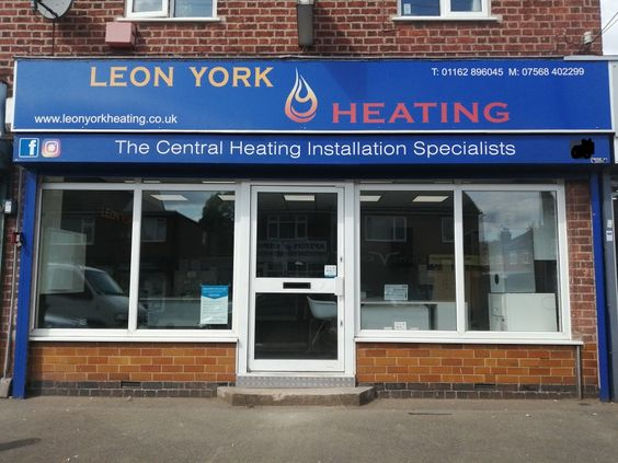 Leon York Heating Office Showroom in LE3 Leicester